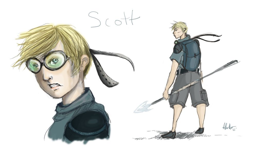 Special Filler Fanart: Scott by Alex DiTullio