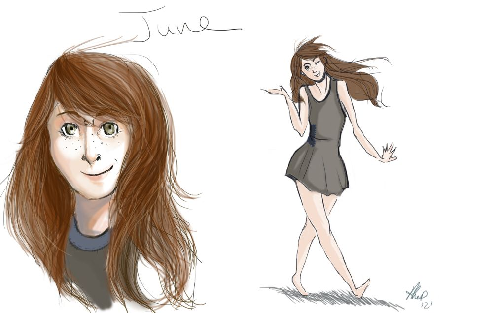 Special Filler Fanart: June by Alex DiTullio
